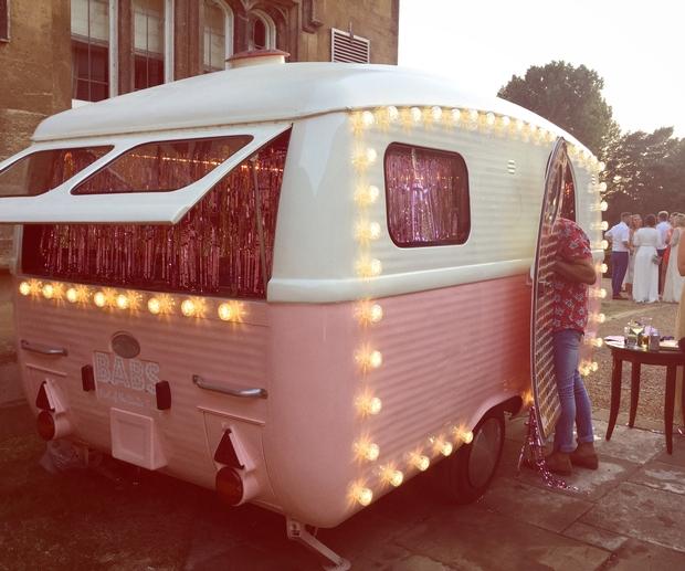 Cheshire's Birdie Camper Van parties with Emma and Matt Willis