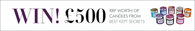 WIN! Nearly £500 RRP worth of candles from Best Kept Secrets