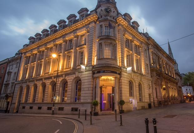 Introducing the Bristol Harbour Hotel wedding venue...
