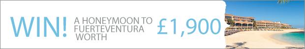 WIN! A heavenly honeymoon in sun-soaked Fuerteventura, worth £1,900