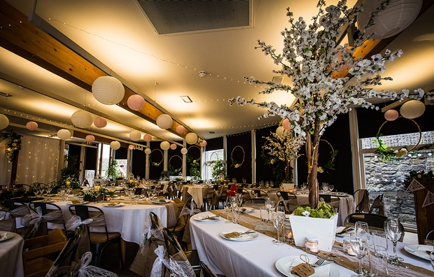 Sarah Scott from Enchanted Wedding reveals how you can decorate your venue in a short space of time