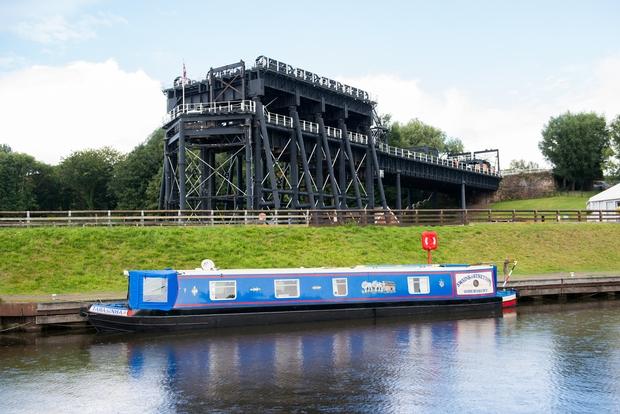We love Cheshire's Anderton Boat Lift wedding venue...