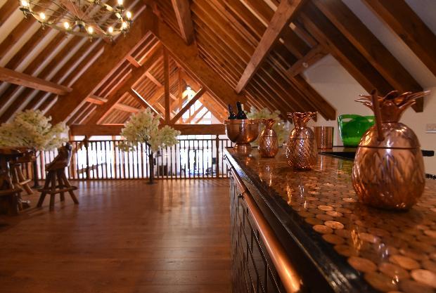 Bucks wedding venue opens new mezzanine cocktail bar