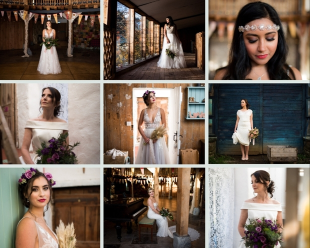 Take inspiration from this stunning shoot at Coed Weddings