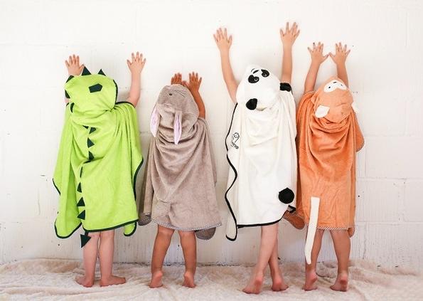 Cuddledry toddler bath towels make a splash