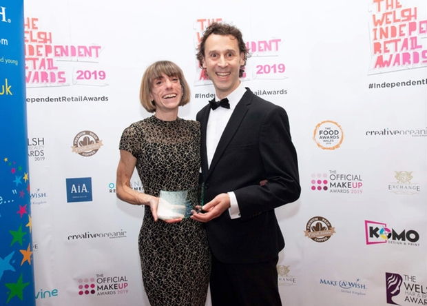 Barr & Co was named Best Independent Jeweller at The 2019 Welsh Independent Retail Awards