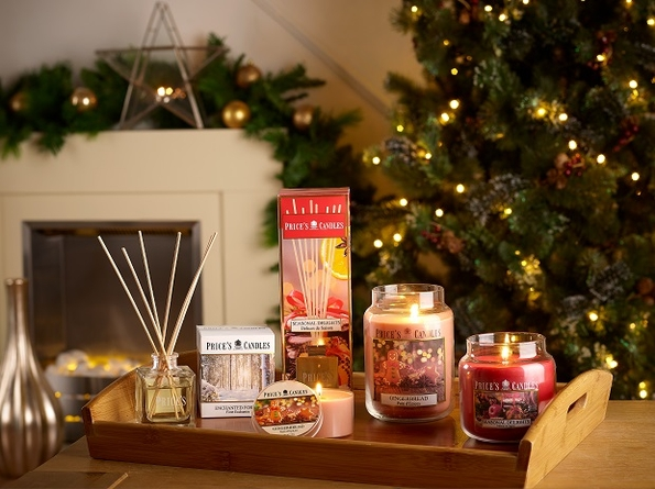 Price's Candles set to launch festive fragrance collection