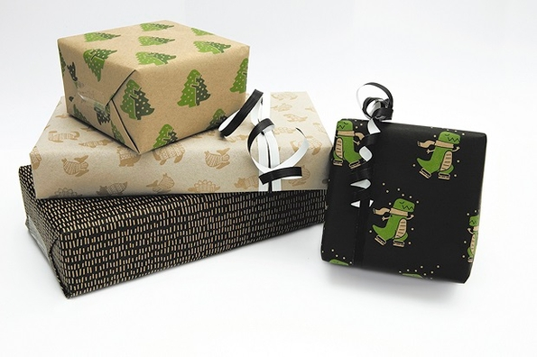 ExaClair launches new Dinosaur Christmas Wrap