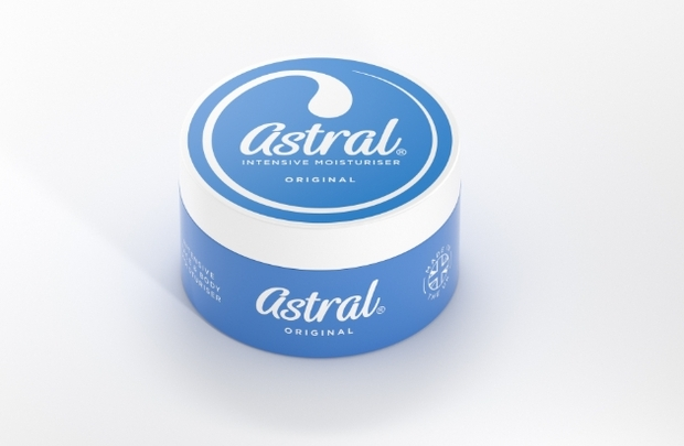 Free renowned Astral moisturiser in Signature Wedding Show goody bags