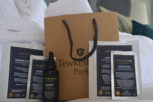 Luxury wedding venue Tewkesbury Park in Gloucestershire announce In-Room Spa Bar and new outdoor sauna