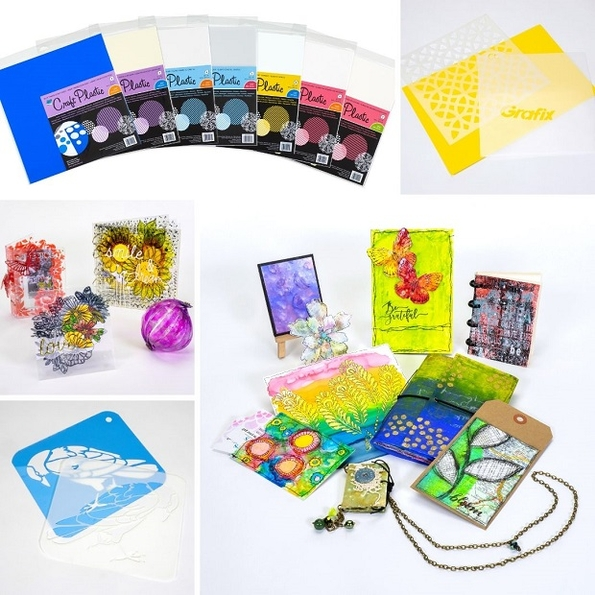 Grafix craft plastic film has a variety of uses