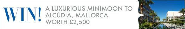 Win! A luxurious minimoon to Alcùdia, worth £2,500