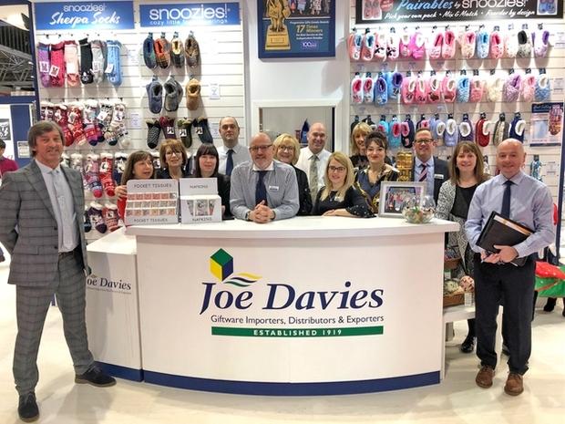 Joe Davies announces 'At Home' event