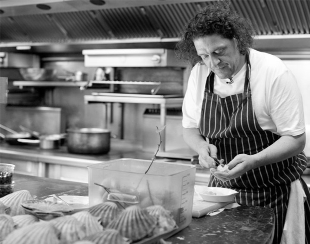 Excitement in Plymouth as Marco Pierre White opens new restaurant