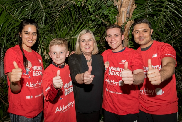Liverpool's Sefton Park Palm House has teamed up with celebrity personal trainer for charity