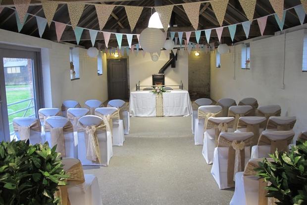 Vintage venue for rustic weddings in Somerset