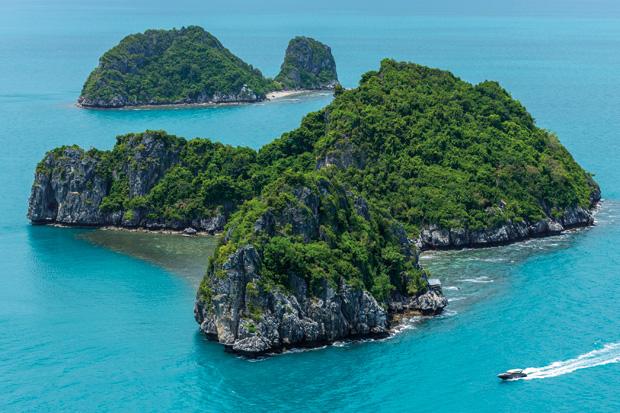 A romantic island escape