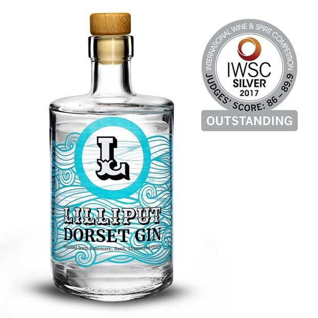 Award win for new Lilliput Dorset Gin