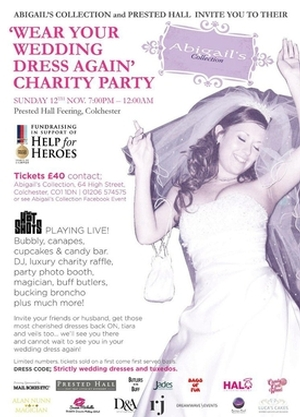 Essex-based boutique and venue join forces for Help for Heroes charity