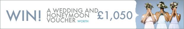 WIN! A wedding and honeymoon voucher courtesy of Debenhams Personal Finance, worth £1,050